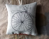 The Little Bike, a Lavender Sachet
