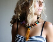The Pharoah, an Art Necklace by LaTouchables