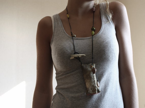 Fete, an Art Necklace