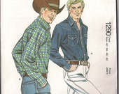 Mens Kwik 1290 Cowboy Shirt Long Sleeved Size 42 44 46 48 un-opened