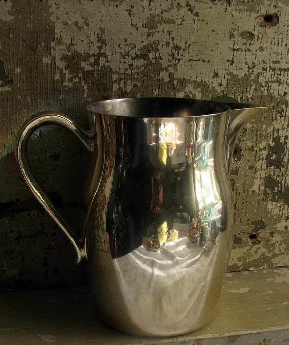 Silver Plate Water Pitcher by KENT Silversmiths