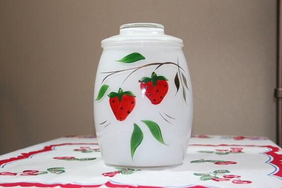 strawberry cookie jar bartlett collins