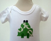 Unisex Frog Baby Bodysuit UK SELLER