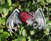 heart with wings with the new dark cherry heart