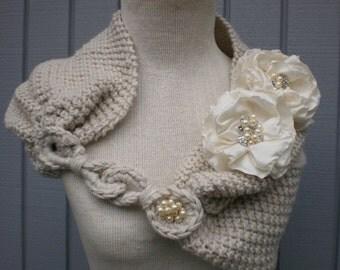 Bridesmaids, wedding shawl, bridal accessories, weddings shawl, bridal shawl, off white, wedding gown, knitting shawl, handmade shawl, gift