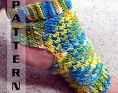 Yoga Socks Ballet Pilates Dance Foot Pedicure Flip Flop - Crochet Pattern 501 INSTANT DOWNLOAD