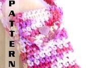 Crochet Pattern Little Girl's Quick & Easy Purse - Pattern 601  INSTANT DOWNLOAD