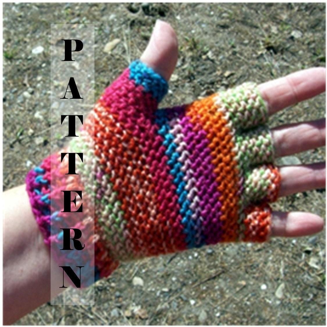 Half finger or Fingerless Gloves Fingertip Hobo Gloves Sock