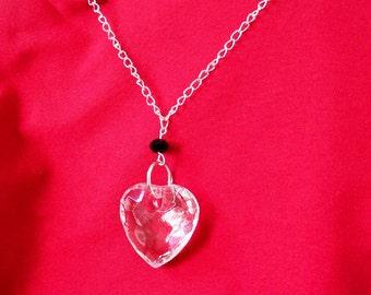 Big HEART NECKLACE Vampire Gothic Wedding Gift