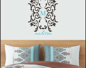 Butterfly Custom Name Decal Vinyl Wall Art By Loladecor On
