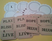 Journal Tags - Sprouts and Tags