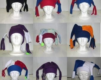 Custom Colors Fleece Jester Hat
