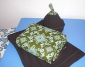 Custom  panel  baby wrap in colors of your choice.