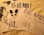 A Bundle of Catwife Zines FREE SHIPPING