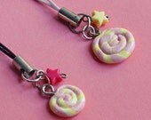 PIF Mini Candy Lollipop Mobile Charm Strap