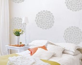 Flower Vinyl Wall Decals- 10 Flower Bloom Wall Graphics, Wallpaper, Stickers, item 10010