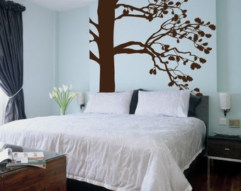 Big Tree Vinyl Decal, Floor to Ceiling- item 30026 Vinyl Wall Graphic, Large Tree Graphic, Sticker