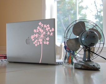 Flower Laptop Decal - item 40003 Vinyl Wall Decal, Laptop Skin, Sticker