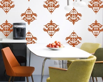 Classic Damask - 16 Graphics, Vinyl Wall Decal, Vinyl Wall Graphics, Wallpaper, Stickers, item 10032
