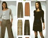 Simplicity 9405 Misses Pants and Skirts size 14-16-18-20, destash