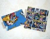 Superhero - Set of 2 ReUsable Snack Bags - Eco Friendly, Waterproof