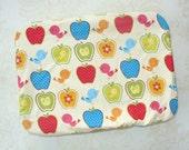 Apples & Chicks 13x9 Pan Size ReUsable Cover, Eco Friendly, Handmade