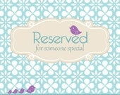 RESERVED for britsuz90
