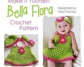 Bella Flora PDF Crochet Pattern