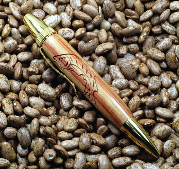 Tulipwood Salmon Pen