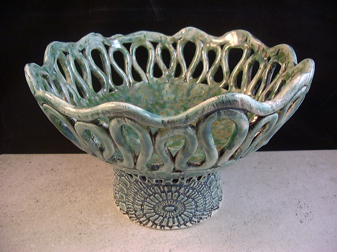 Items similar to ceramics art pottery coil pot home for Clay pots designs
