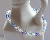 ON SALE - Midnight Swarovski Crystal Bracelet