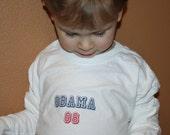 Barack Obama 08 Kids Boys Girls Logo T-Shirt
