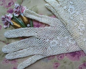 Lace Wedding Gloves Long and Romantic
