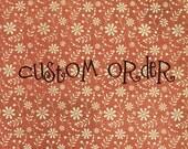 Custom Order for  smiddykm