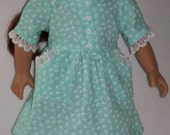 1940s-18 inchl Doll  Sweetheart Neck Dress Shoes Socks and Glasses