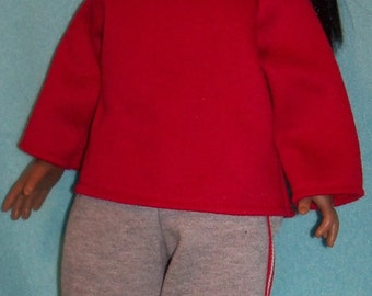 18 inch  Doll Jogging or Workout Outfit plus Jogging Shoes