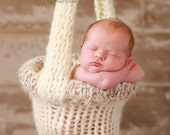 My Pride and Joy.....The ORIGINAL Knitted Hanging Baby Basket Photo Prop.....Copyright Product.....Can ONLY Purchase From Me