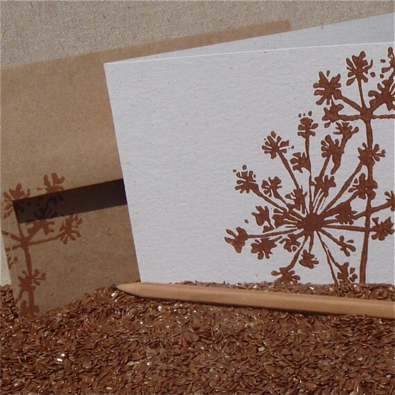 Anise - Set of 8 Blank Cards