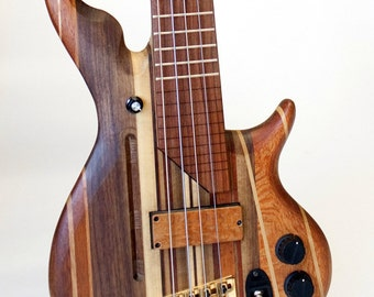 Custom Electric Bass or Guitar with our unique Innovations