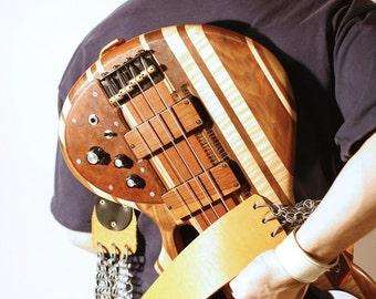 Chainmail guitar strap **FREE MONOGRAMMING**