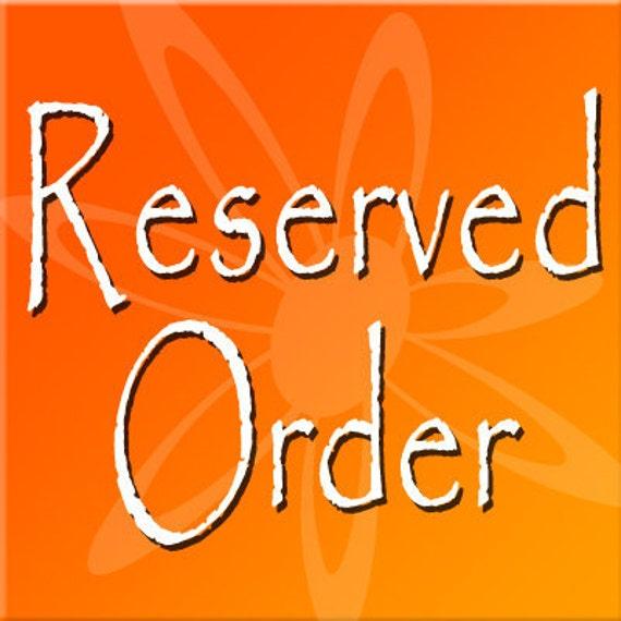 Reserved Listing for jmdinap
