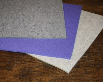 Merino Wool Felt Sheets 12 inch Square 5MM Thick
