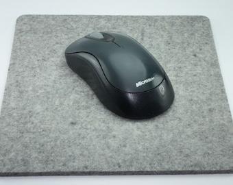 Computer Mouse Pad 100% Virgin Merino Wool Felt Desktop Felted Mousepad 5mm Thick Eco friendly Desk Accessories Office Decor Accessory