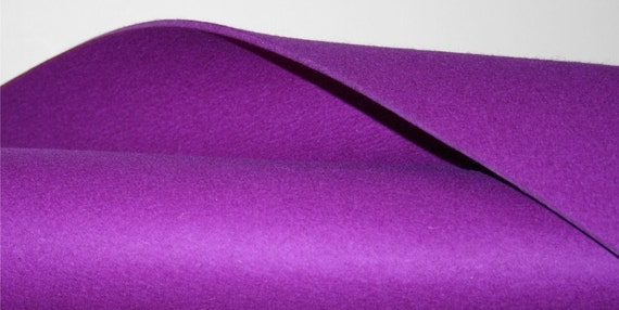 "3MM Thick Wool Felt- 36"" x 72""- 19 colors"