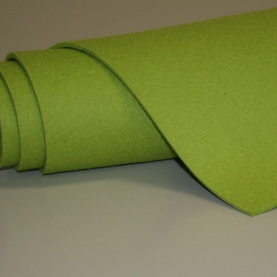 "5mm Thick Virgin Merino Wool Felt Fabric Felted Wool Material 18"" x 14"""