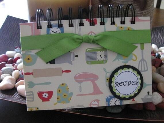 Recipe Card Book / Holder  -- 2011-121