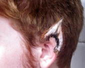 Special Edition Fox Werewolf Ears Prosthetic Hyper-Realistic HULI JING RED