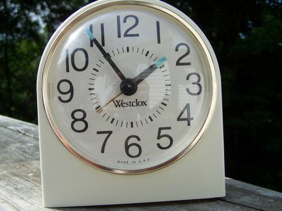 Vintage Wind Up Westclox Alarm Clock By Smokymtntreasures On Etsy