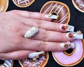 Donut Nails. Kawaii 3D Japanese Nail Art