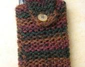 CUTE handknit cell phone case